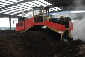 hydraulic Commercial Compost Windrow Turner