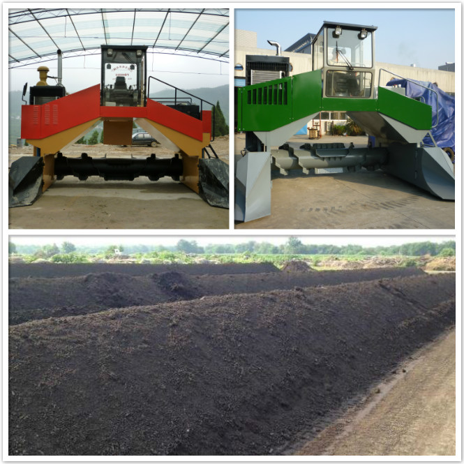 Full Hydraulic Crawler Compost Turner