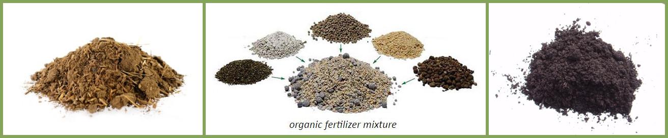 organic fertilizer blender application