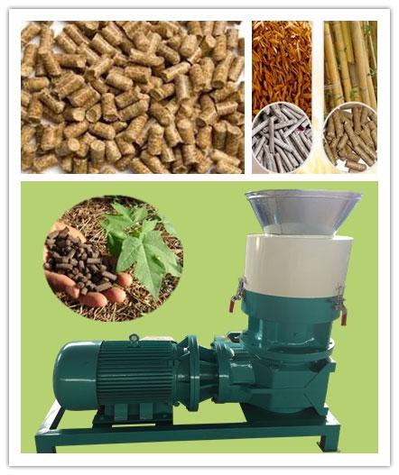 flat die pellet mill