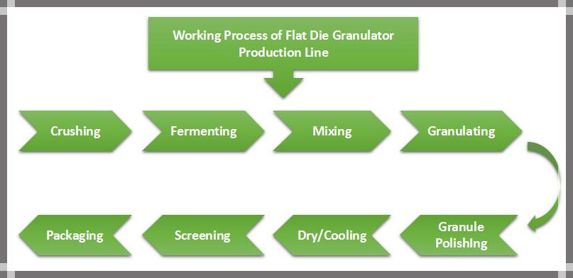 flat die production line