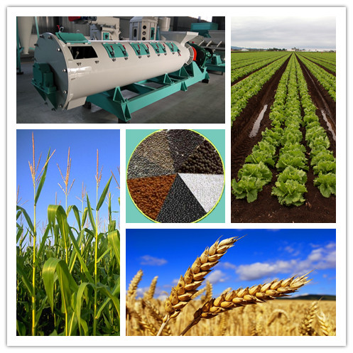 organic fertilizer granulation machine