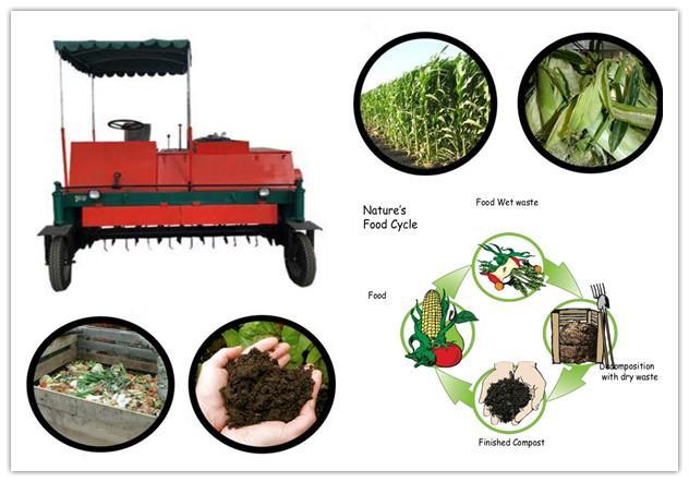 self propelled compost turner