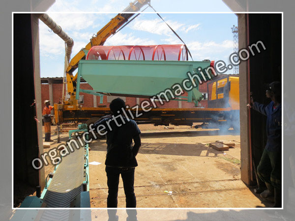 sieving machine to Zimbabwe