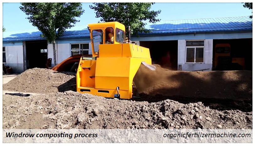 windrow compost machine